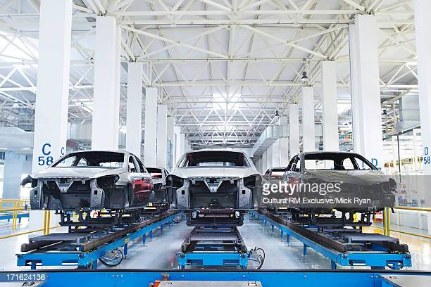 Car manufacturing plant, Wuhu, China