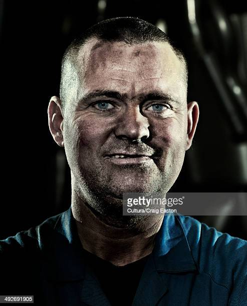 Car mechanic, portrait
