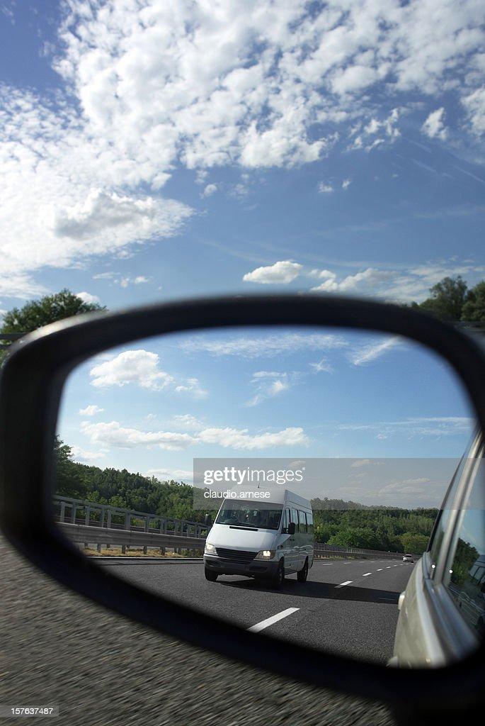 Car Mirror. Color Image : Stock Photo