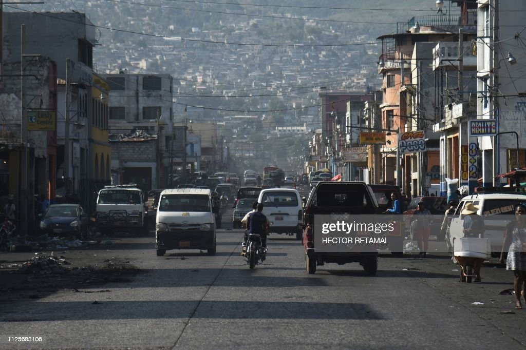 HAITI-POLITICS-UNREST : News Photo