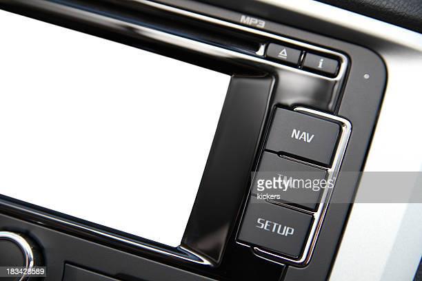 navigation system mit leeren Bildschirm