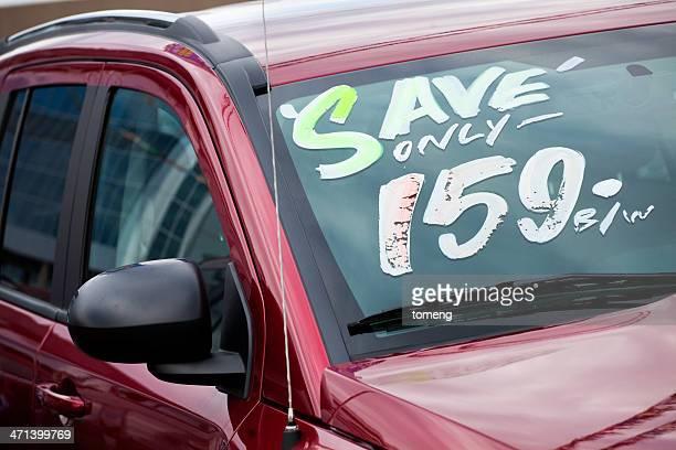 Car on Dealership Lot