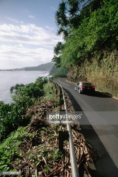 Car on Hana Highway