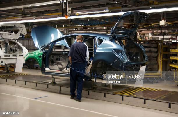 Auto auf die Produktion