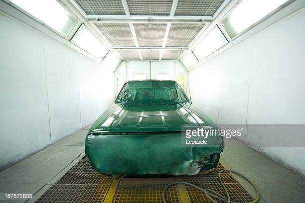 Auto Farbe Booth