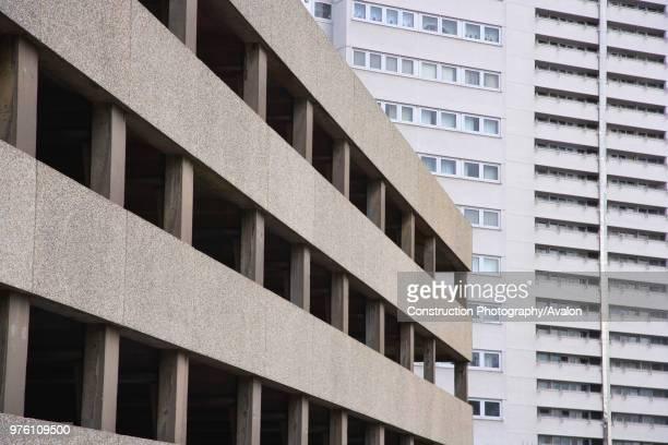 Car park and Office Block Birmingham UK