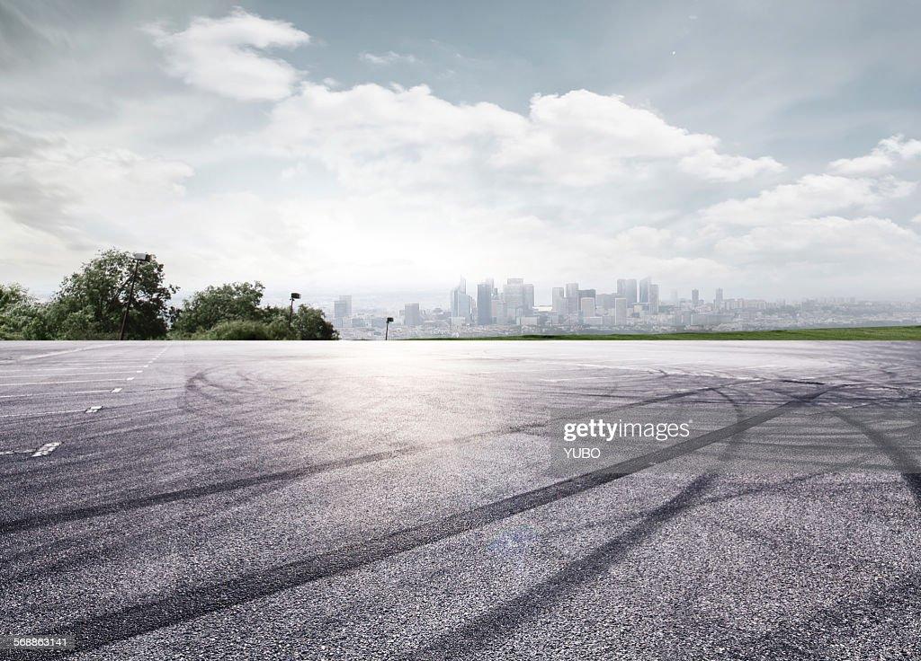 Car park : Stock Photo