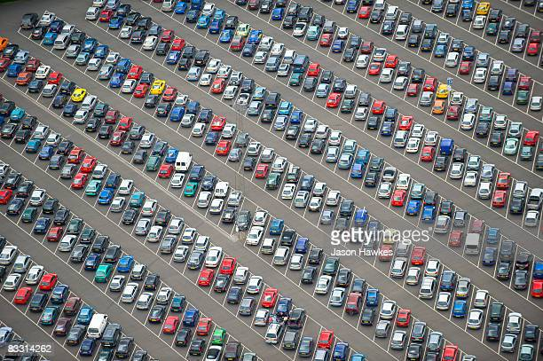 car park - car park stock pictures, royalty-free photos & images