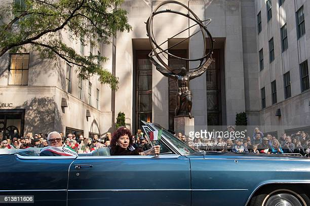 A car participates in the annual Columbus Day Parade on October 10 2016 in New York City This is the 72nd Columbus Day Parade held in New York City