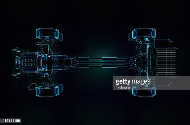 Piezas de estilo de rayos X