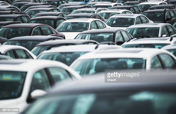 automobile - car park stock pictures, royalty-free photos & images