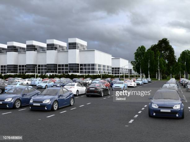 car plant - showroom stock pictures, royalty-free photos & images