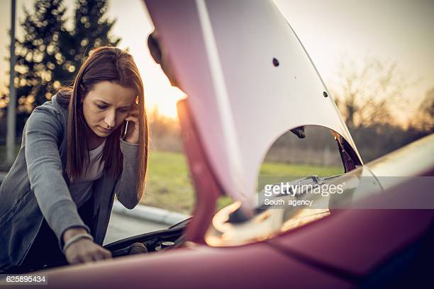 car problems - broken down car stock pictures, royalty-free photos & images