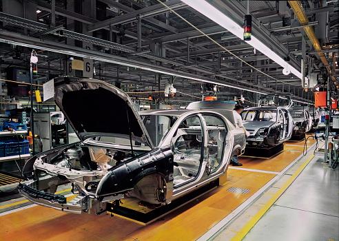 car production line 538617741