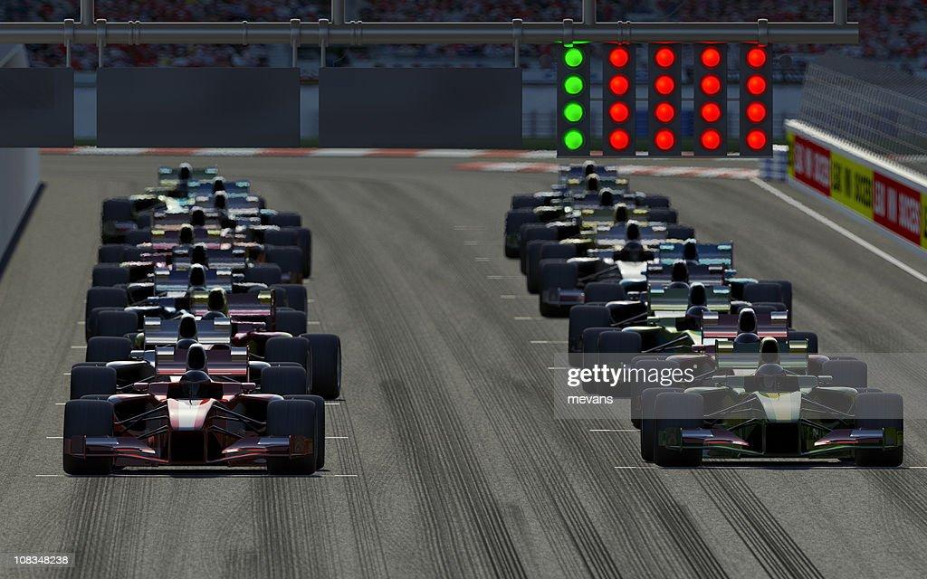 Car Race : Stock Photo