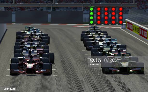 car race - beginnings stock pictures, royalty-free photos & images