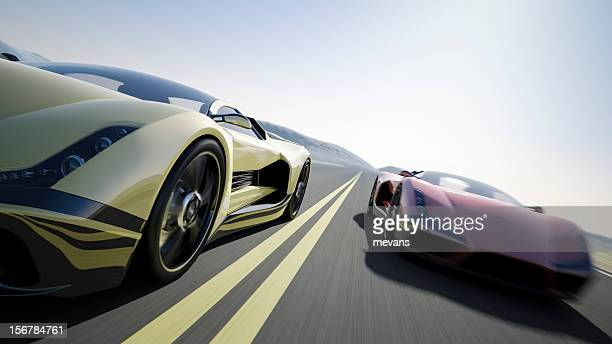 car race - motorsport stock pictures, royalty-free photos & images