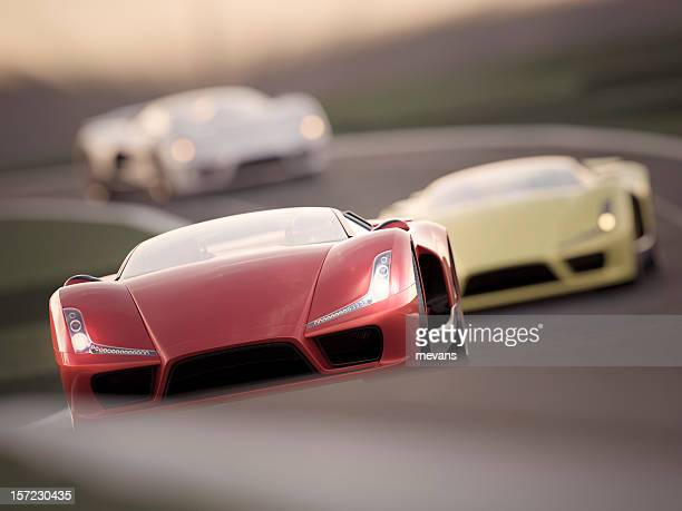 car race - drag race stock photos and pictures