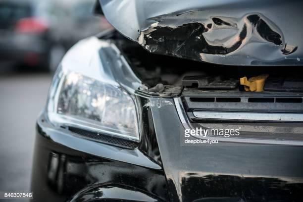 colisión de automóvil - auto accident fotografías e imágenes de stock