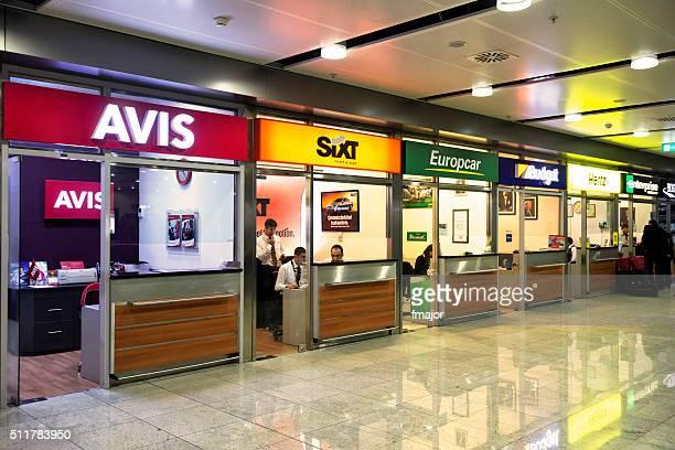 Car Rental Offices in Sabiha Gokcen Airport, Istanbul