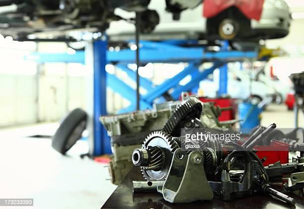 Car repair background