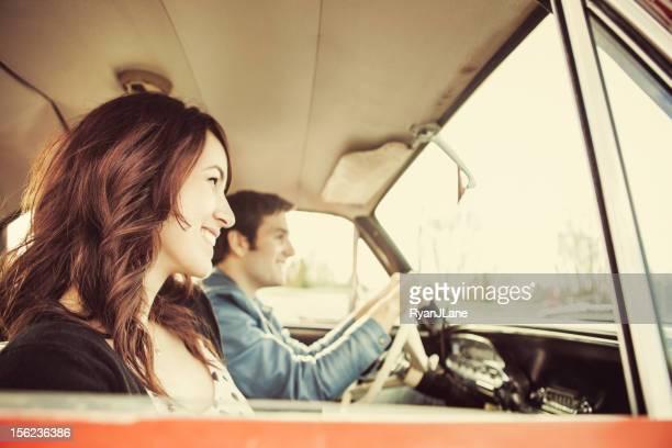 Ride paar Auto