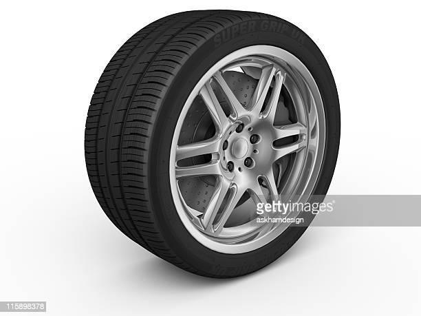 Car Rim And Tire