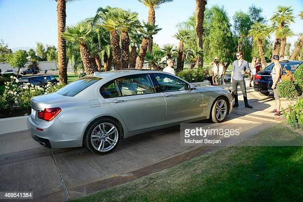 Car service for guests of Soho Desert House on April 12, 2015 in La Quinta, California.