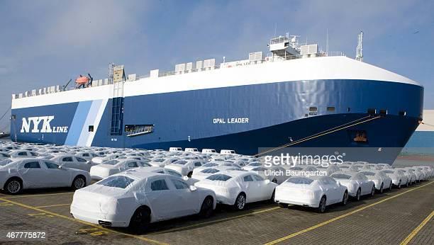 Car shipment overseas in Bremerhaven