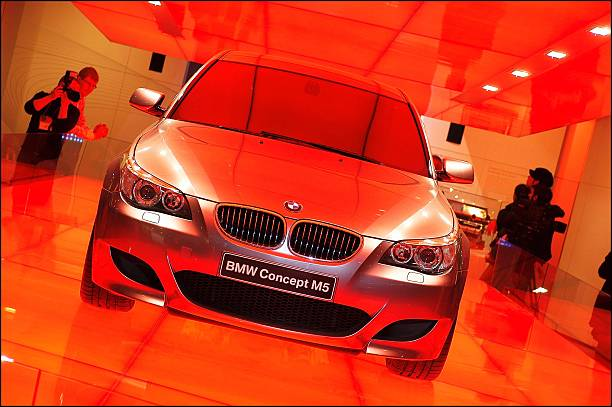 Car Show In Geneva, Switzerland On March 02, 2004 Pictures | Getty ...