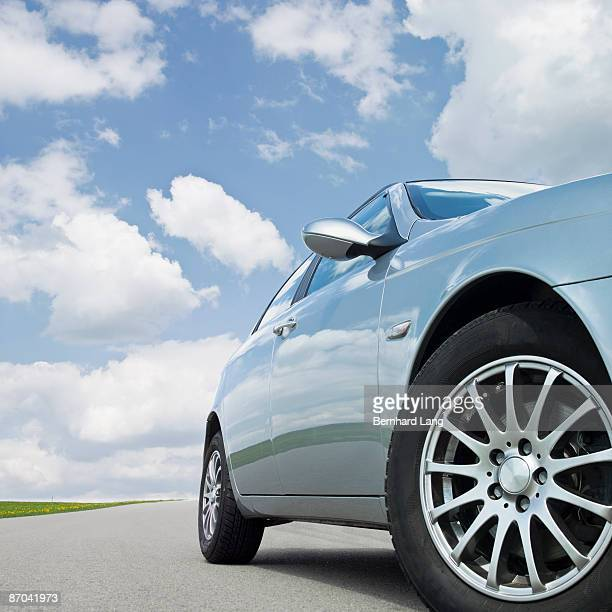 Car standing on street