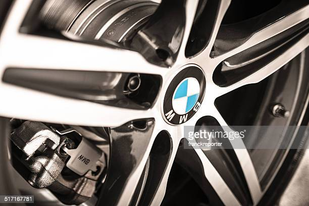 Car steel wheels of a new Bmw coupe