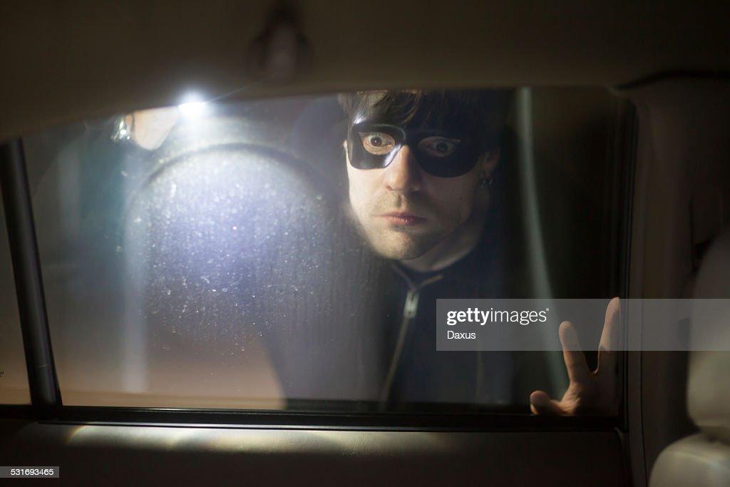 Car Thief : Stock Photo