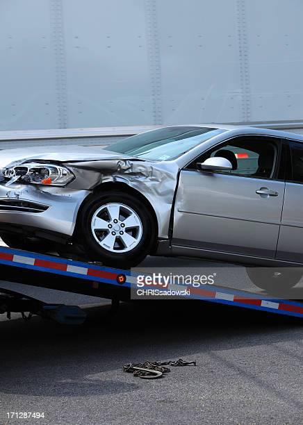 car tow - tow truck stock pictures, royalty-free photos & images