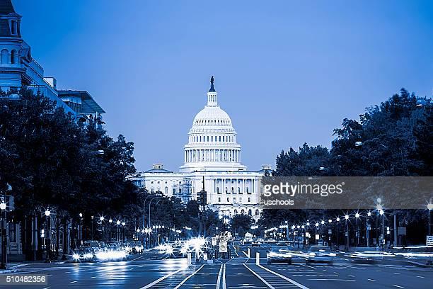 Car Trails in Capitol Hill, Washington DC