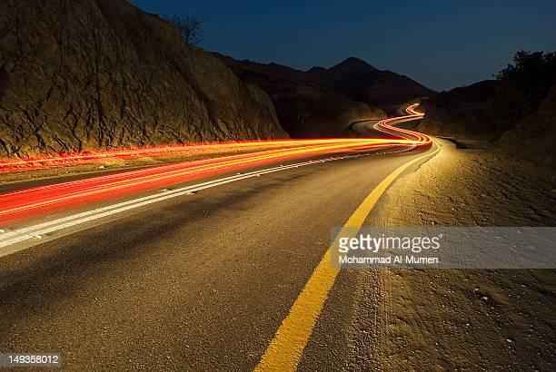 Car trails