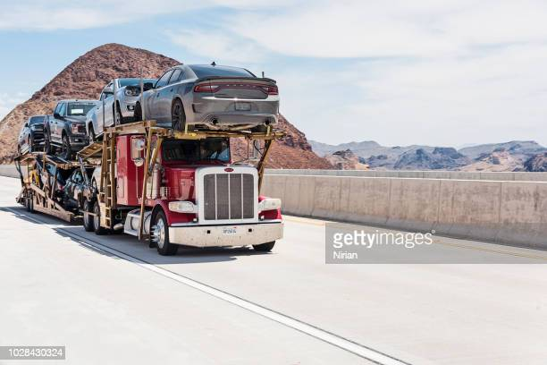car transporter - carrying stock pictures, royalty-free photos & images