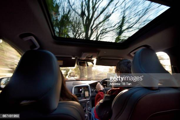 car trip - wide angle stock pictures, royalty-free photos & images