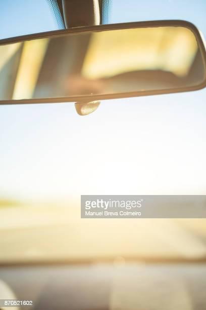 car trip - green car crash stock photos and pictures