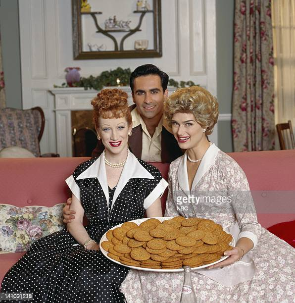 SUSAN Car Trouble Episode 15 Pictured Kathy Griffin as Vicki Groener as Lucy Ricardo Nestor Carbonell as Luis Rivera as Ricky Ricardo Brooke Shields...