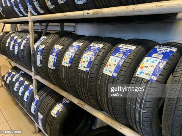 car tyres for sale - inexpensive stock photos and pictures