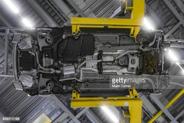 Car under body