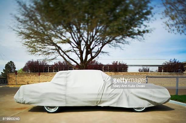 Car Under Tarpaulin