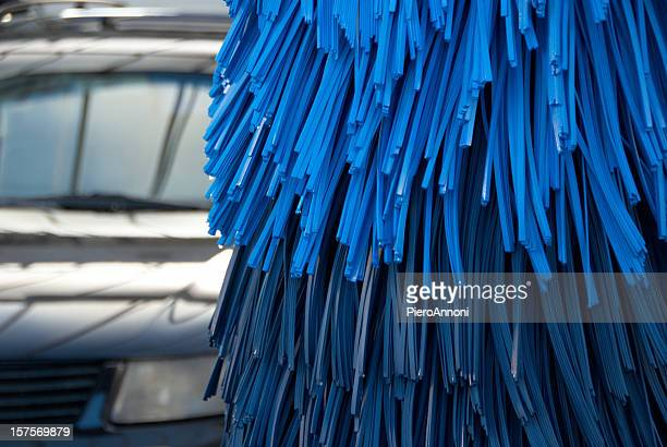 car wash brush - car wash brush stock photos and pictures
