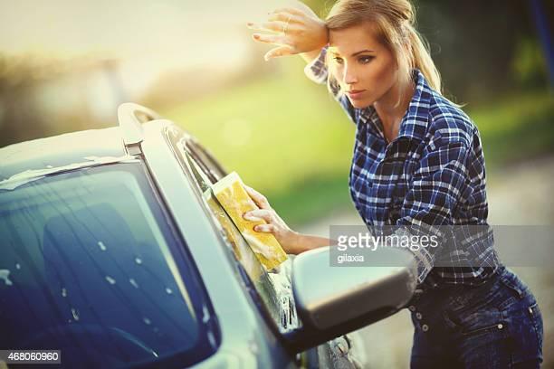 洗車ます。