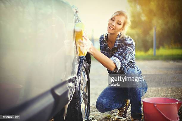 car wash. - daily bucket stock pictures, royalty-free photos & images