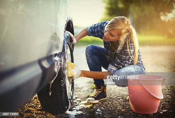 car wash. - washing stock pictures, royalty-free photos & images