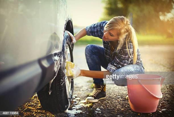 autowaschanlage. - waschen stock-fotos und bilder