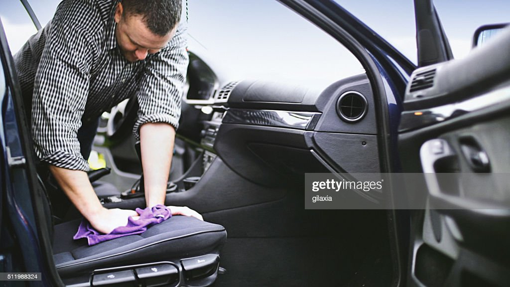 Car wash. : Stock Photo