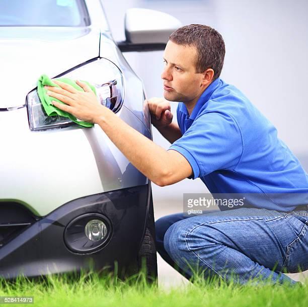 Lavado del automóvil.